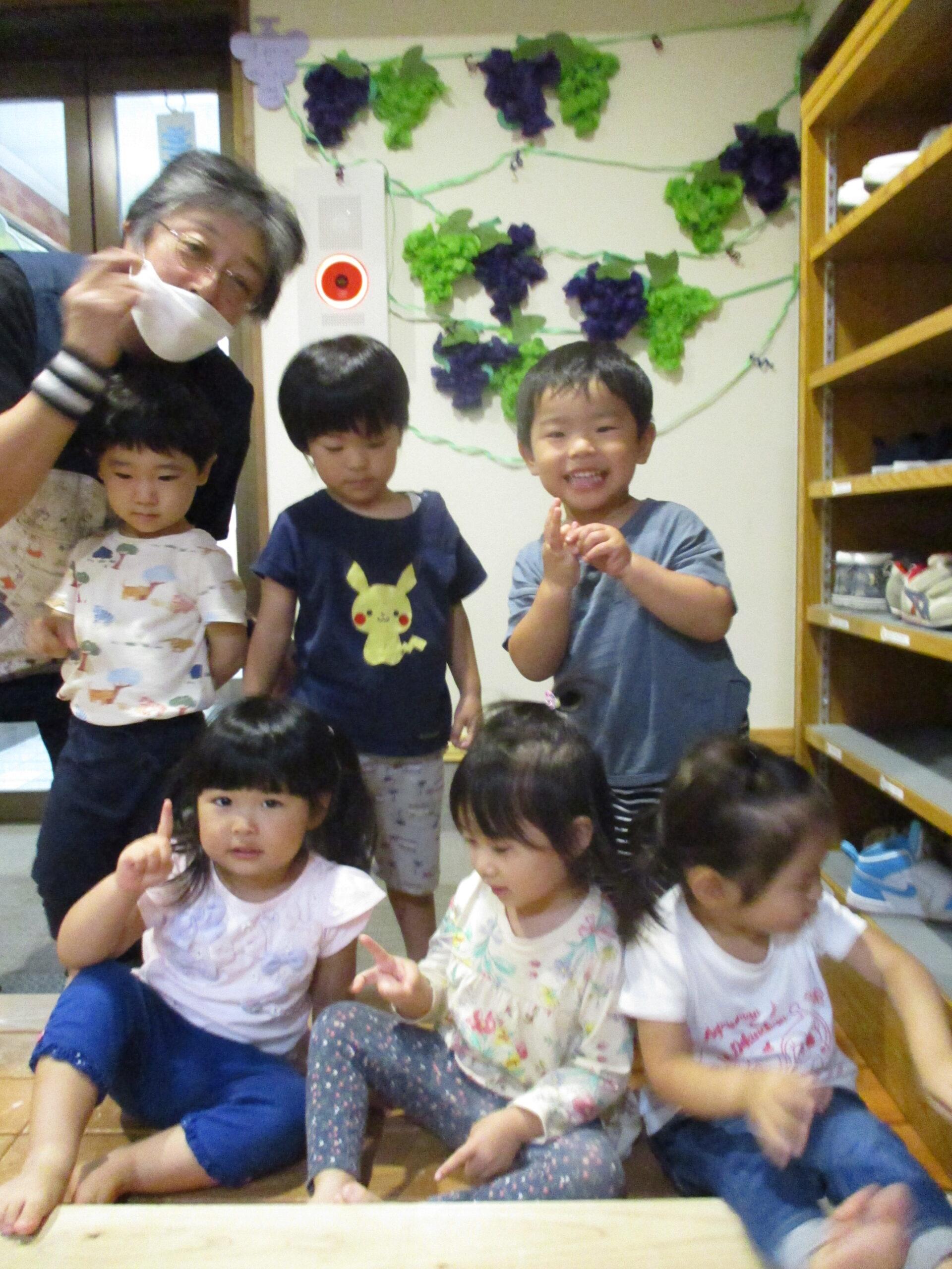 白石園 9月の製作(2歳児)